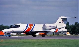 Learjet 35 N80SM 3 Farnborough | by oldpeckhamboy1