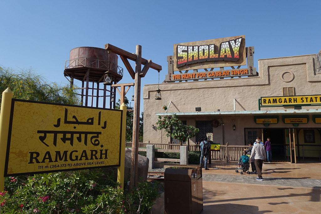 Bollywood Parks Dubai | Sholay: The Hunt for Gabbar Singh | Flickr