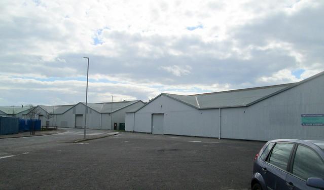 WW1 Air Hangars