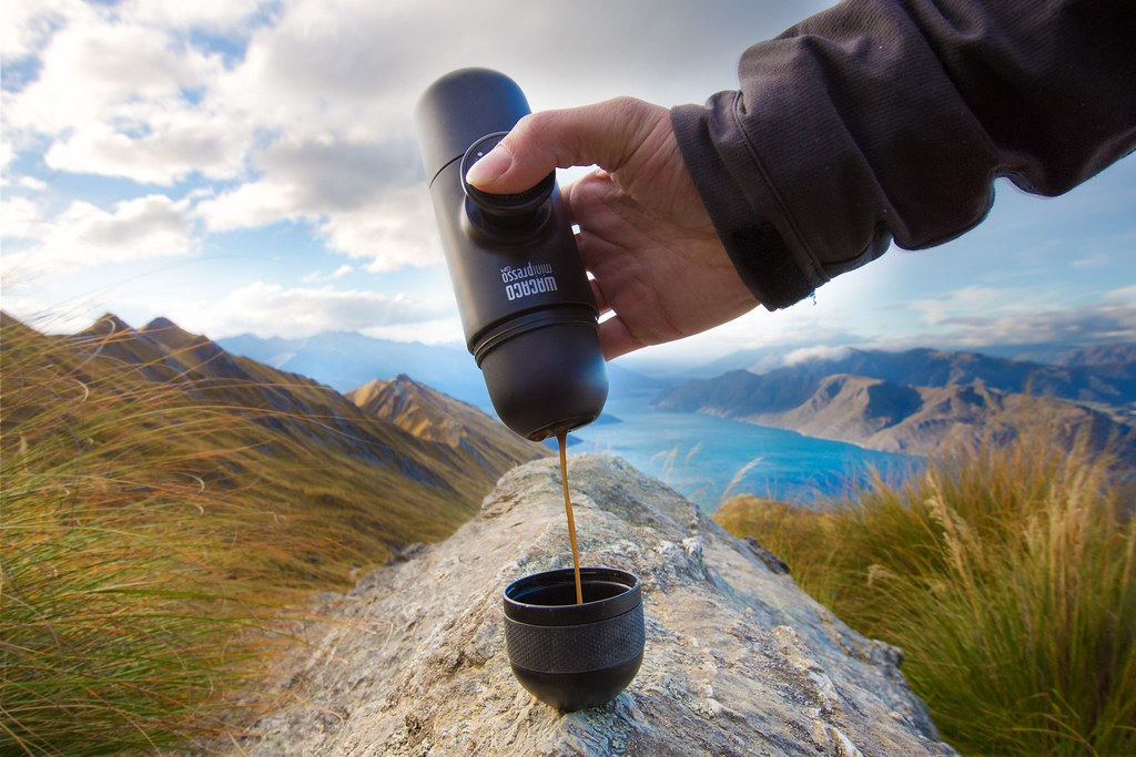 Take Your Espresso On the Go With the Portable MiniPresso GR
