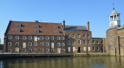 18th Century Mill House, Three Mills Tidal Mill, River Lea, Bromley-by-Bow, London | by barry.marsh1944
