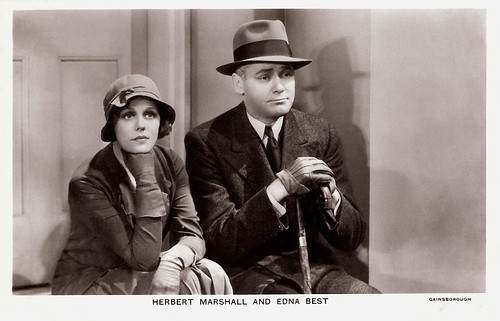 Edna Best and Herbert Marshall
