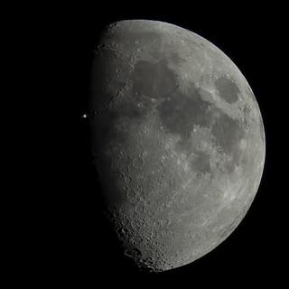 Transit lunaire d'ISS | by Сергей'