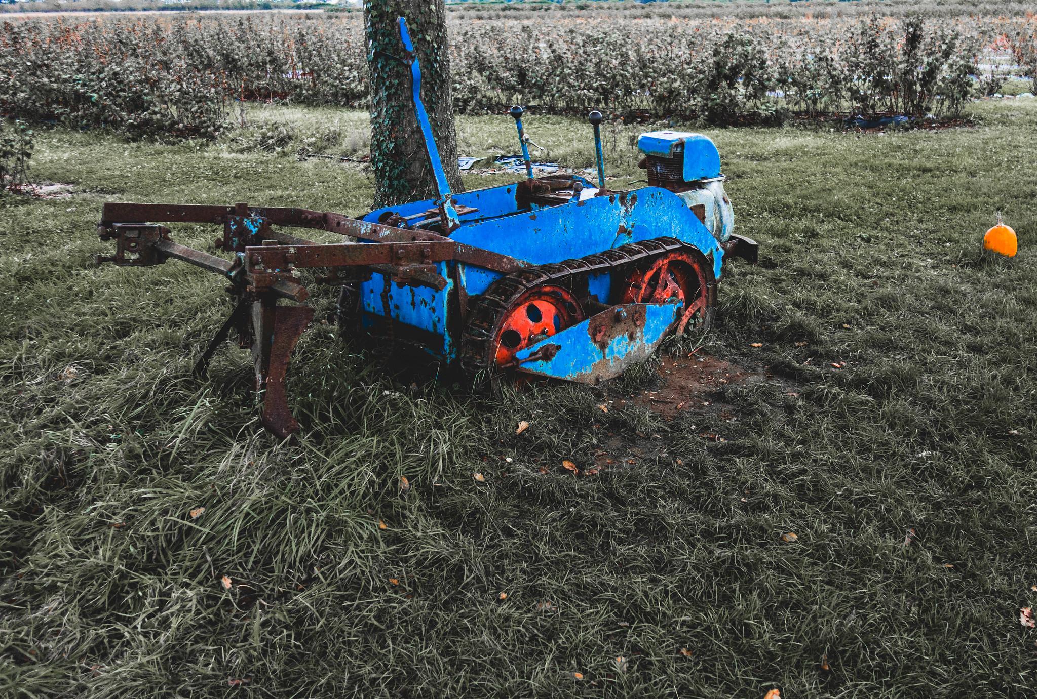 The Pumpkin Tractor