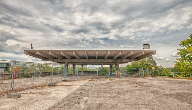 The Abandoned Olympic Park Train Station - HFF!