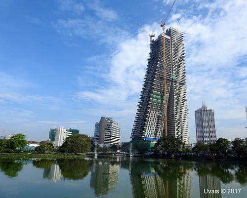 colombo srilanka city altair tower travel nikon