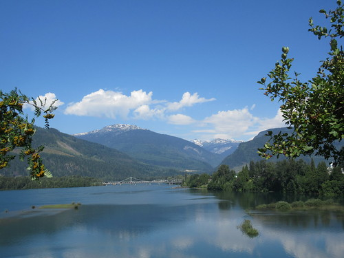 columbia river revelstoke bc british canada blue