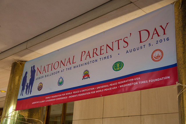 "DC-USA-2016-08-05-""Parents Day"" Celebrated in Washington, D.C."