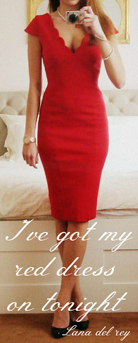 Red Dress - Lana del Rey Quote | by DolceDanielle