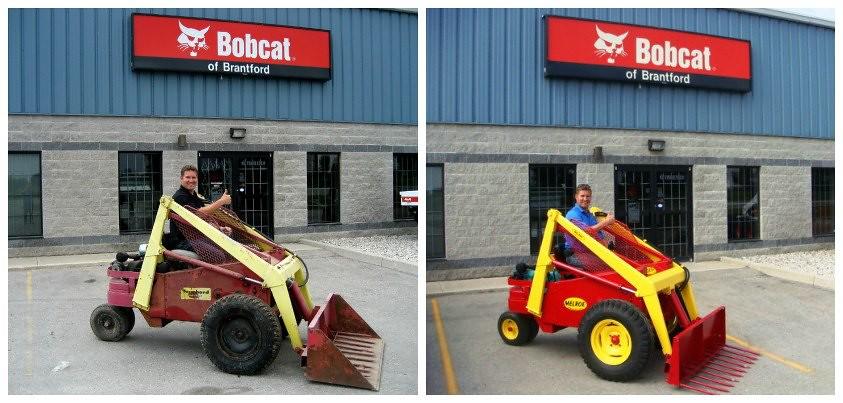 Bobcat Of Brantford >> M200 Restoration Project Thanks To Jason D At Bobcat Of
