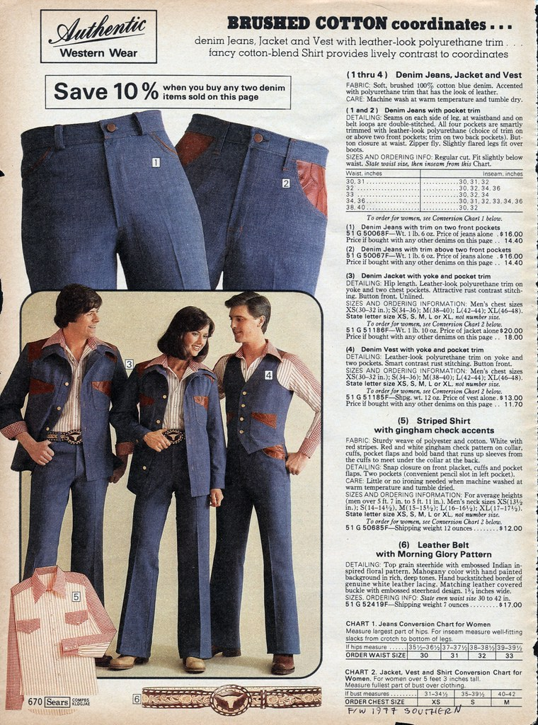 2c3137948 Sears 1977 fall/winter pg 670 | Vintage leisure suits. | Flickr