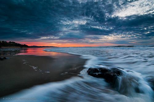 ocean beach lincolncitywaves spanishheadbeachbeachsunsetjoshkullajoshkullaphotographylincolncitylongexposurenikond300soceanoregonoregoncoastpacificnorthwestlandscapephotographerspacificoceansunsettokina1116mmwater