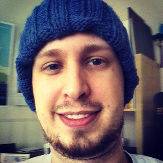 I almost forgot. Blue Beanie Day. #bbd12