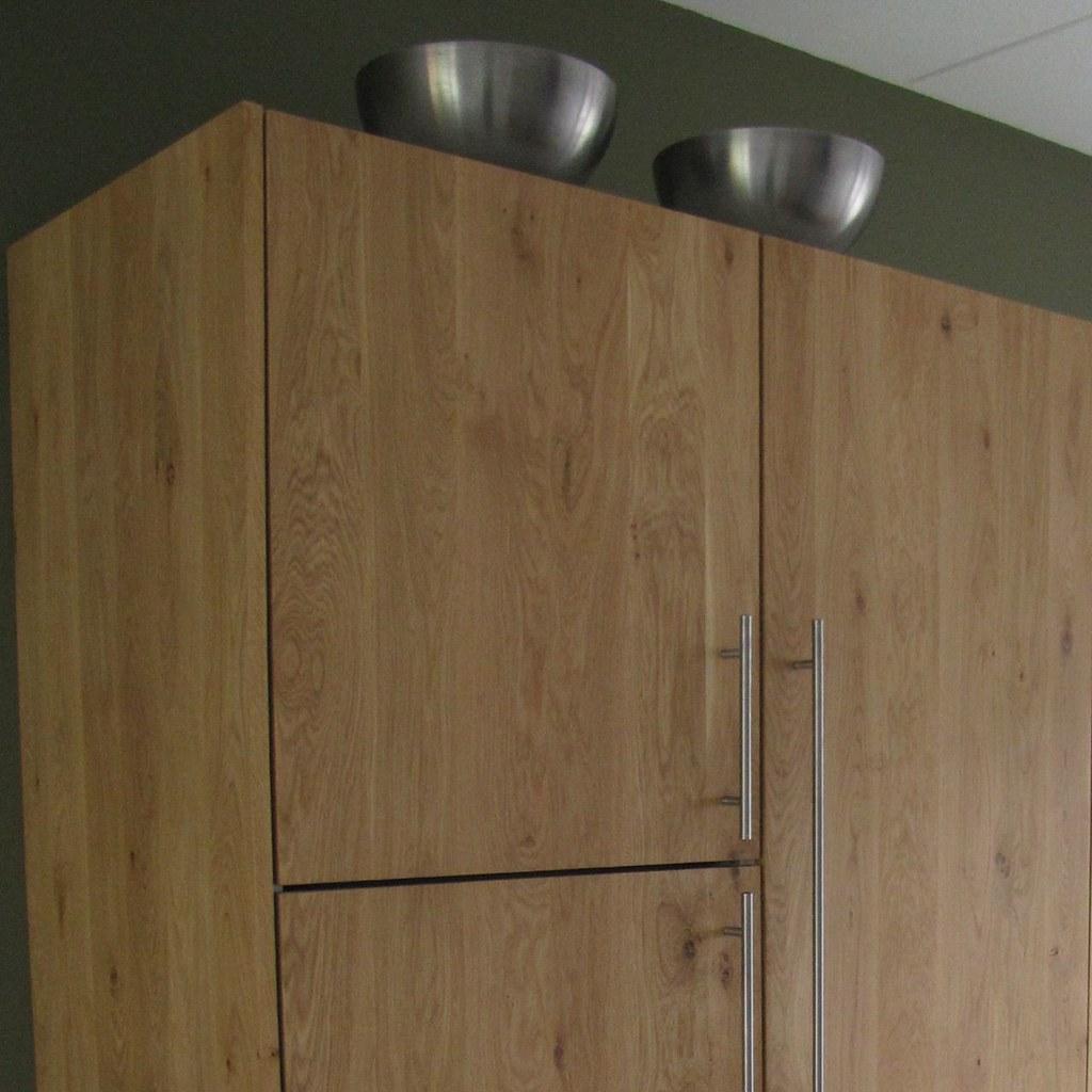 Massief Eiken Houten Keuken Met Ikea Keuken Kasten Door Ko