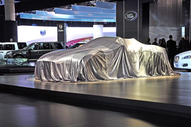Jaguar under wraps