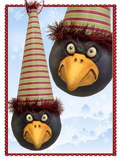 Grumpy Bird - Black