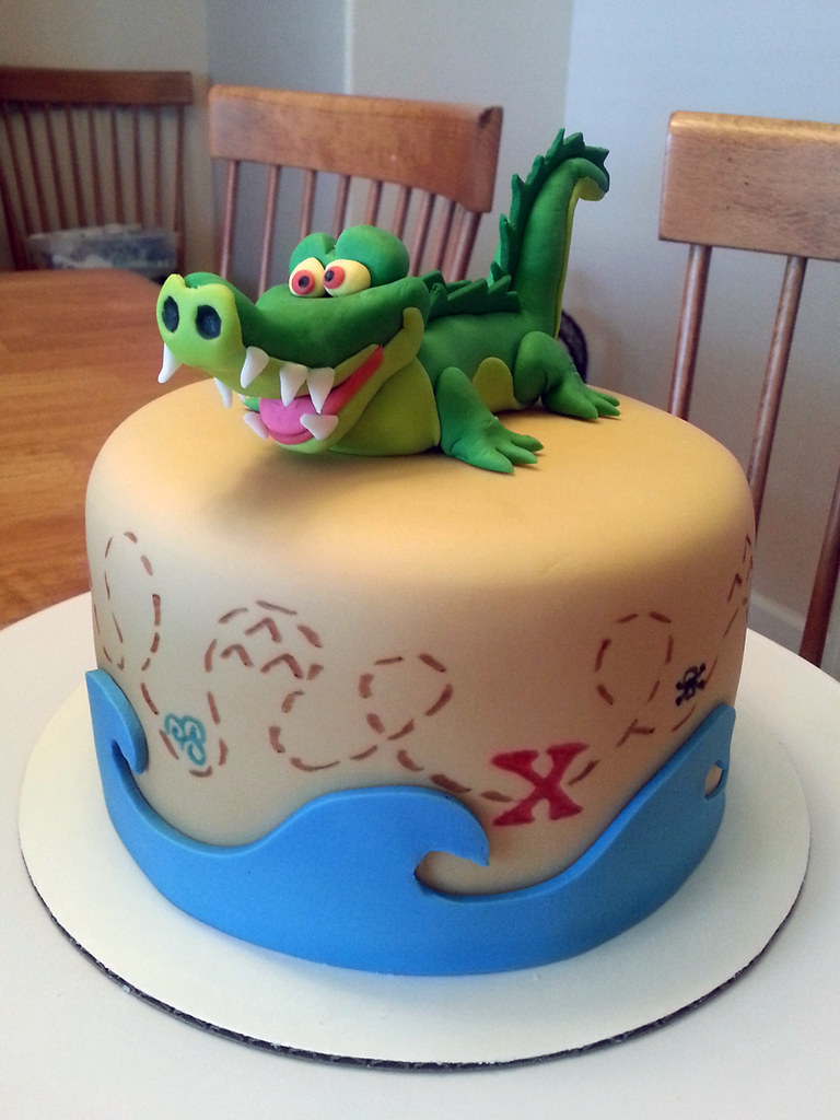 Tremendous Jake And The Neverland Pirates Birthday Cake Mindy Bortz Flickr Funny Birthday Cards Online Alyptdamsfinfo