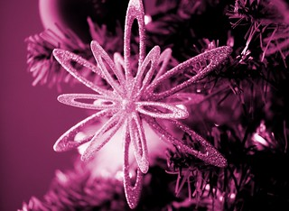 Purple Star Ornament | by CCalhoun10