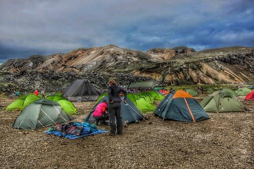 Iceland Landmannalaugar Route Ultramarathon Is Held On