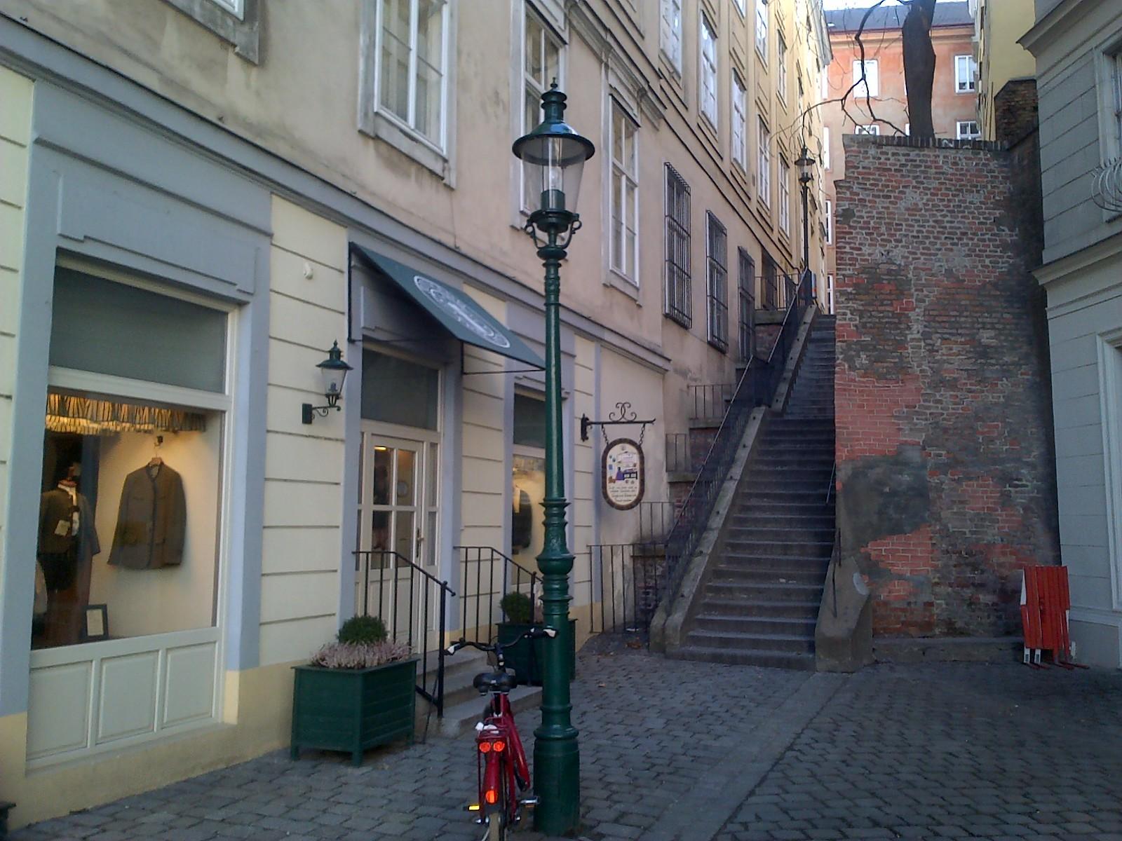 Stairs to Schottenbastei, Vienna
