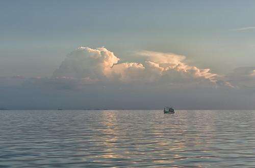 Boat at Sunset | by Hattifnattar