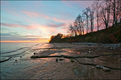 sunset ontario cobourg greatlakeontario lucaspoint