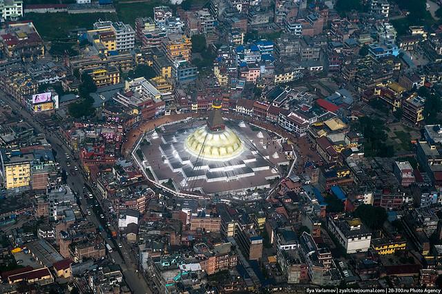 Boudhanath at dawn, Kathmandu