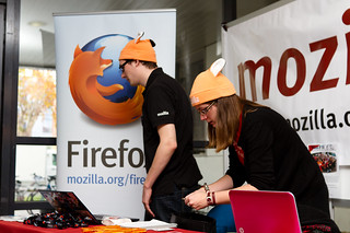 Stand Mozilla, bonnet inside