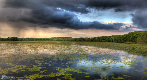 park sunset storm nature rain clouds america creek landscape state wildlife parks caesar wetlands marsh lilypads beautifulsunset amazingsunset beautifullandscapes americanlandscape