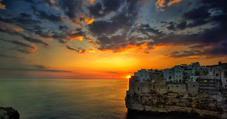 Sunrise in Polignano a Mare | by Fabrizio Massetti