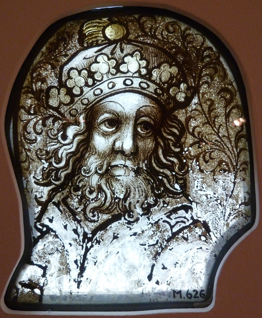 Head of a king (from the Old Testament)