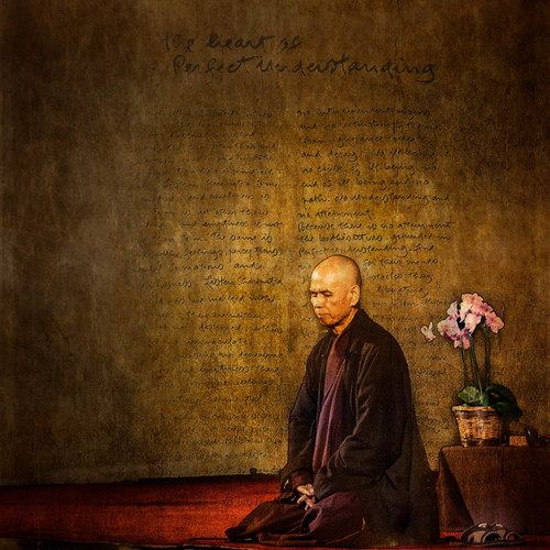 Thay and the Heart Sutra thich Nhat Hanh | by touching peace photography - Paul Davis