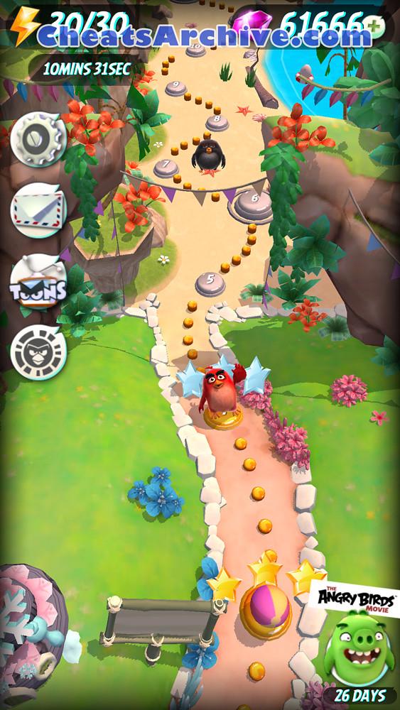 Angry Birds Action cheat mod apk