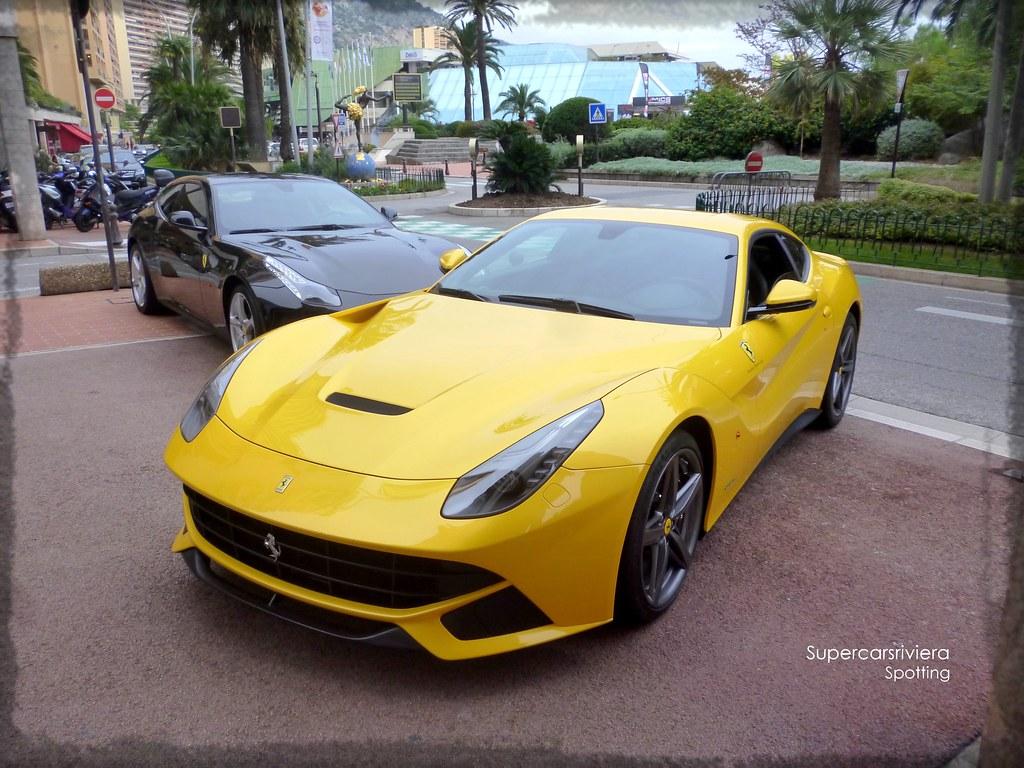 Yellow Ferrari F12 Berlinetta Monaco Supercarsriviera Flickr