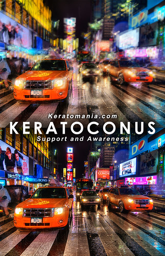 Keratoconus Vision Poster - (Times Square by Spreng Ben) | by Keratomania