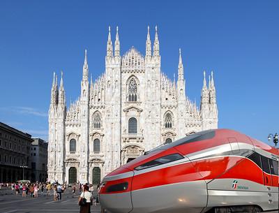 Próxima Estación: Esperanza - Il treno Frecciarossa1000 a Milano