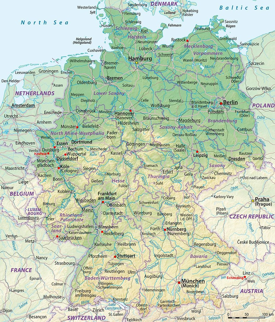 Map Of Germany Jpg.Gorilla Zoo Map Germany All Zoos And Wildlife Parks With Flickr