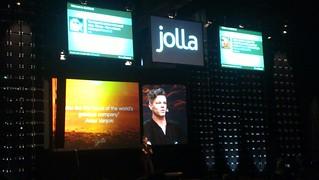 Jolla's presentation at Slush