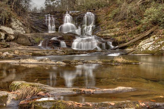 Conasauga Falls, Conasauga Creek, Cherokee National Forest, Monroe Co, TN