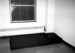 My Minimalistic Dorm Room in Black & White