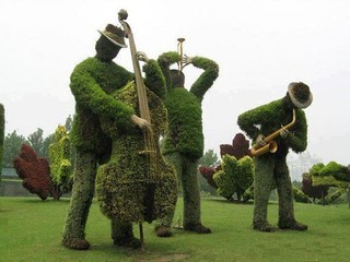Garden Musicians | by Charles Perkins