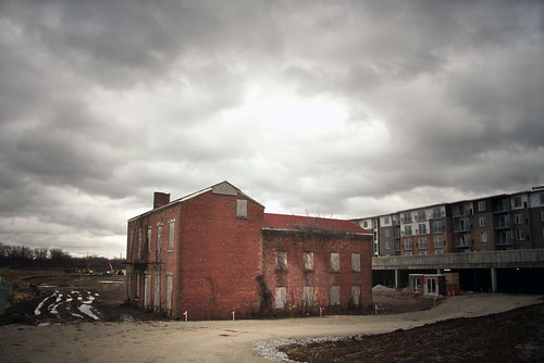 house architecture ruins kentucky historic louisville riverfront paget