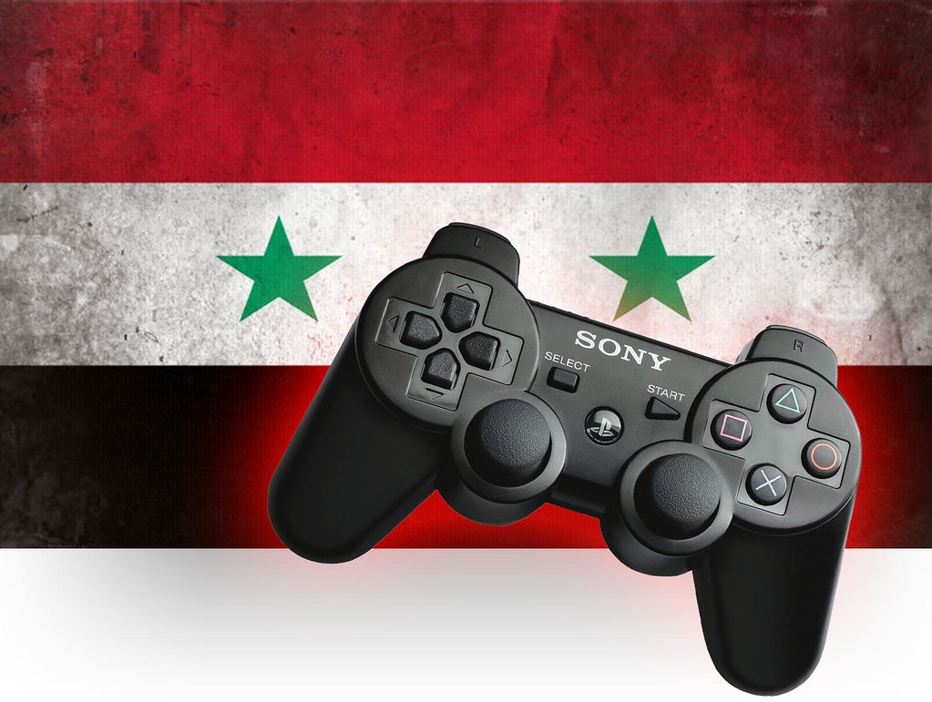Syrian Rebels Use Hacked Sony PlayStation Controller to Co… | Flickr