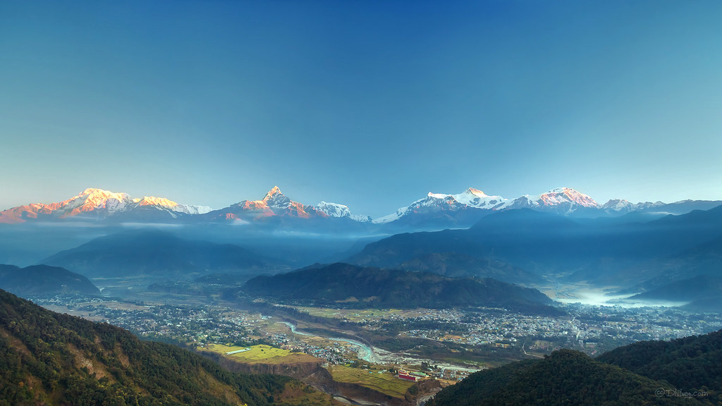 Sunrise over the Himalayas in Nepal. Courtesy: Flickr