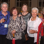 Janie Smith, Robyn White, Sue Lenthall, Judy Nickson & Brenda Santi