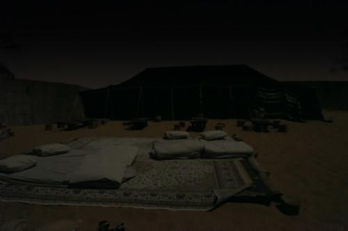 Camp in the desert | by Tigra K