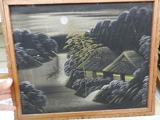 Black Velvet Vietnamese flavored painting.