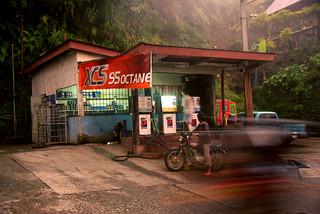batad petrol station