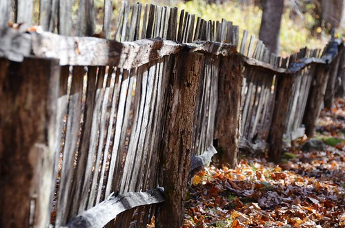 smokies gsm roaringfork homestead pioneers rustic fence autumn fall october mygearandme mygearandmepremium rickety ageworn jennypansing d7000 ricketyfence mountainlife