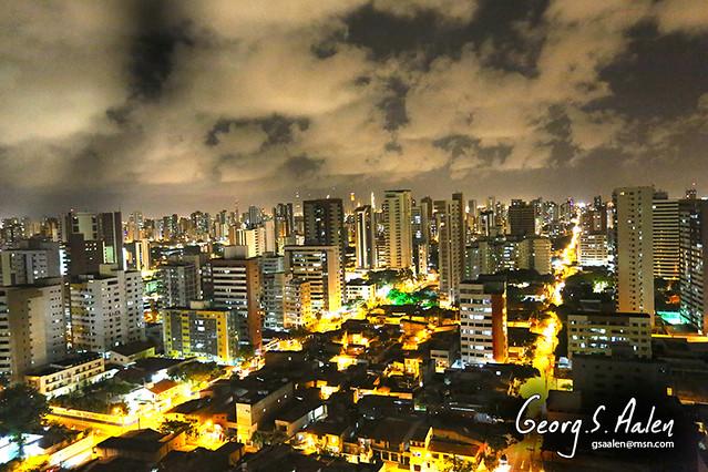 Fortaleza by night